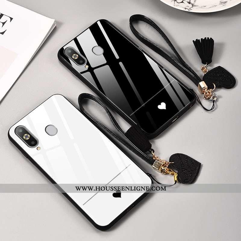Étui Samsung Galaxy A8s Silicone Protection Simple Nouveau Tout Compris Étoile Miroir Noir
