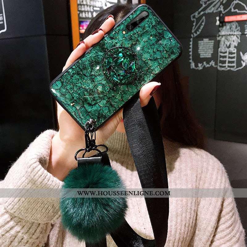 Étui Samsung Galaxy A90 5g Protection Ornements Suspendus Vert Tout Compris Téléphone Portable Perso