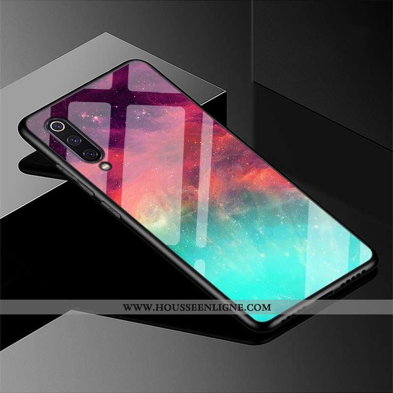 Étui Samsung Galaxy A90 5g Verre Personnalité Tout Compris Étoile Fluide Doux Rouge