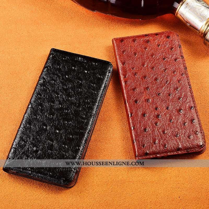 Étui Samsung Galaxy Note 10+ Fluide Doux Silicone Étoile Téléphone Portable Cuir Protection Noir