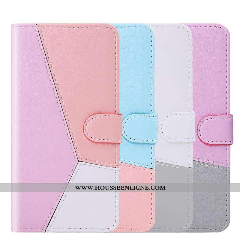 Étui Samsung Galaxy Note 10 Lite Cuir Coque Housse Incassable Rose Téléphone Portable Étoile