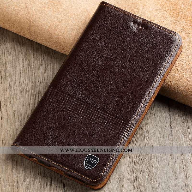 Étui Samsung Galaxy Note 10 Lite Protection Cuir Véritable Housse Téléphone Portable Coque Incassabl