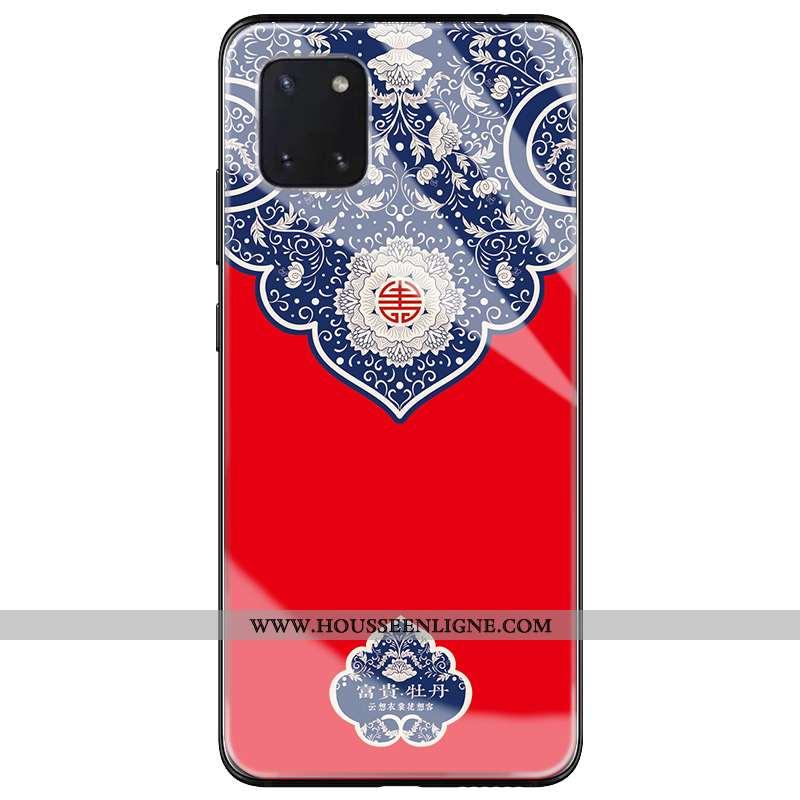 Étui Samsung Galaxy Note 10 Lite Tendance Protection Coque Téléphone Portable Rouge Tout Compris