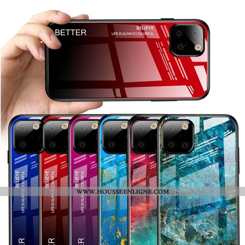 Étui Samsung Galaxy Note 10 Lite Verre Tendance Rouge Étoile Coque Téléphone Portable Clair Rose