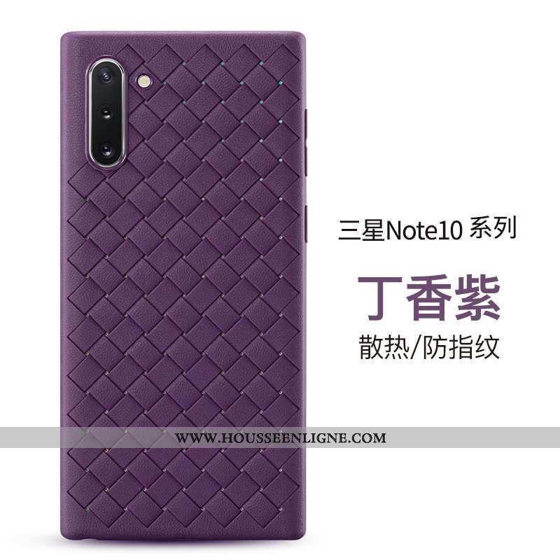 Étui Samsung Galaxy Note 10 Protection Personnalité Fluide Doux Incassable Tout Compris Tendance Mod