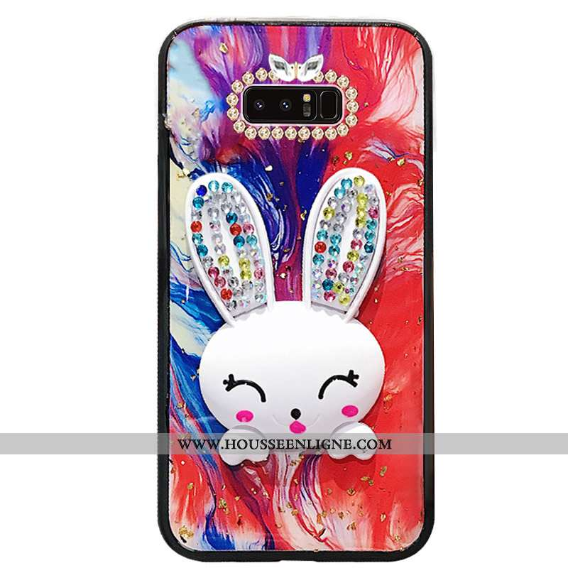 Étui Samsung Galaxy Note 8 Ornements Suspendus Créatif Téléphone Portable Charmant Étoile Protection