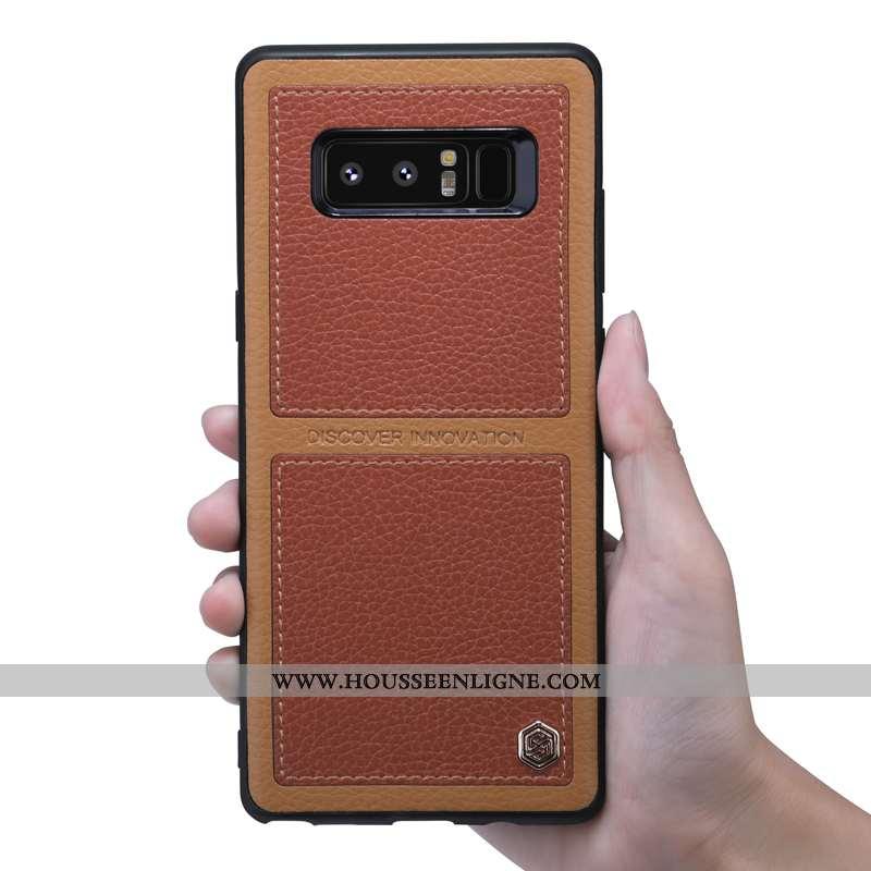 Étui Samsung Galaxy Note 8 Protection Personnalité Téléphone Portable Coque Difficile Fluide Doux To