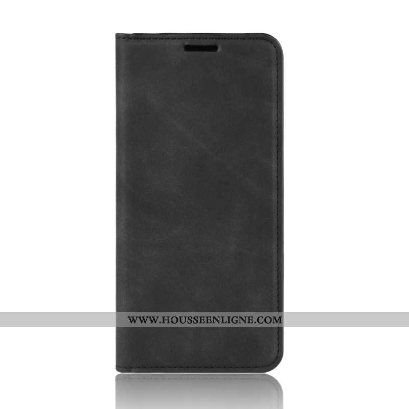 Étui Samsung Galaxy Note20 Cuir Housse Magnétisme Incassable Étoile Téléphone Portable Noir