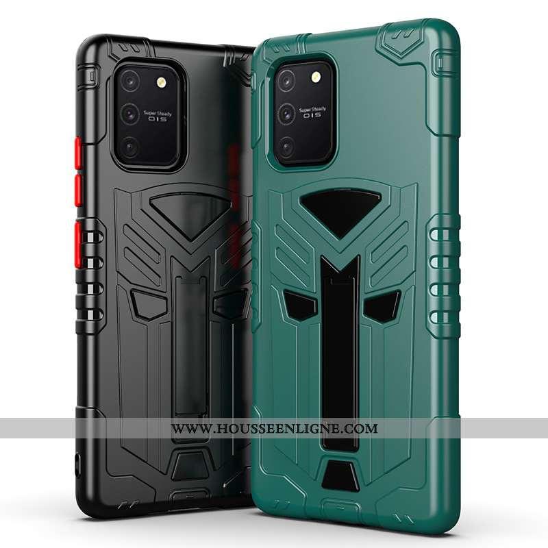 Étui Samsung Galaxy S10 Lite Protection Fluide Doux Support Étoile Téléphone Portable Incassable Ver