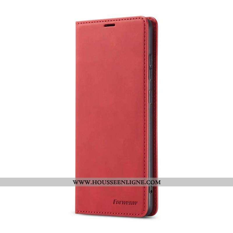 Étui Samsung Galaxy S20 Cuir Créatif Portefeuilles Coque Carte Étoile Rouge