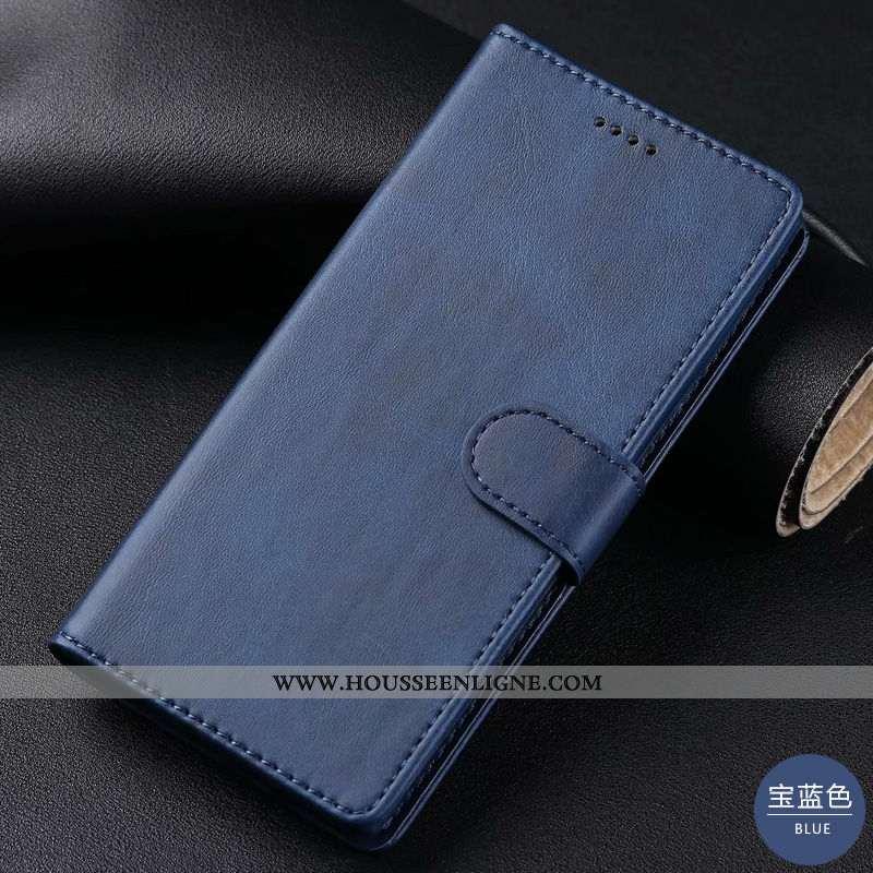 Étui Samsung Galaxy S20 Cuir Véritable Manuel Téléphone Portable Bleu Marin Housse Étoile Cuir Bleu