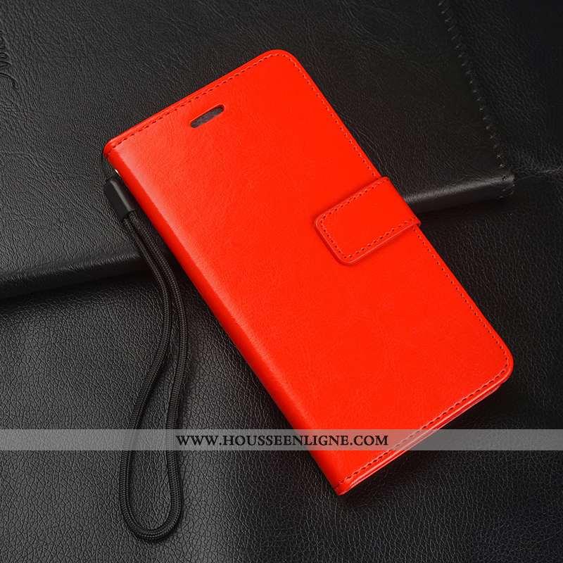 Étui Samsung Galaxy S6 Edge Cuir Fluide Doux Protection Incassable Coque Étoile Rouge