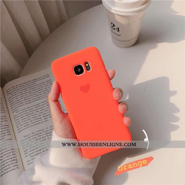 Étui Samsung Galaxy S6 Edge Protection Personnalité Coque Amour Charmant Tout Compris Téléphone Port