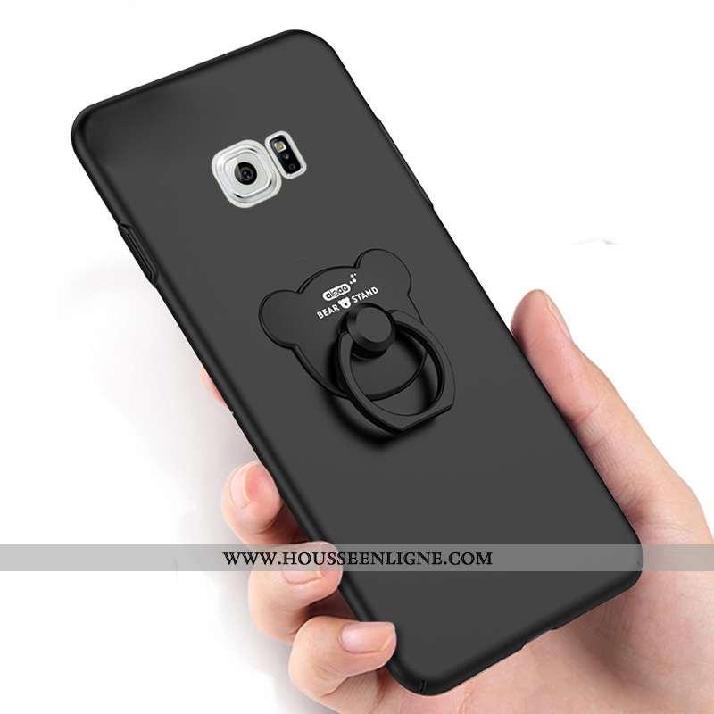 Étui Samsung Galaxy S6 Ornements Suspendus Créatif Téléphone Portable Anneau Noir Coque Étoile