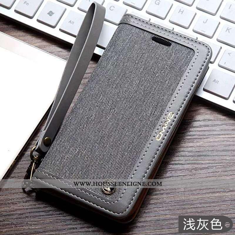Étui Samsung Galaxy S7 Cuir Coque Gris Téléphone Portable Étoile Housse
