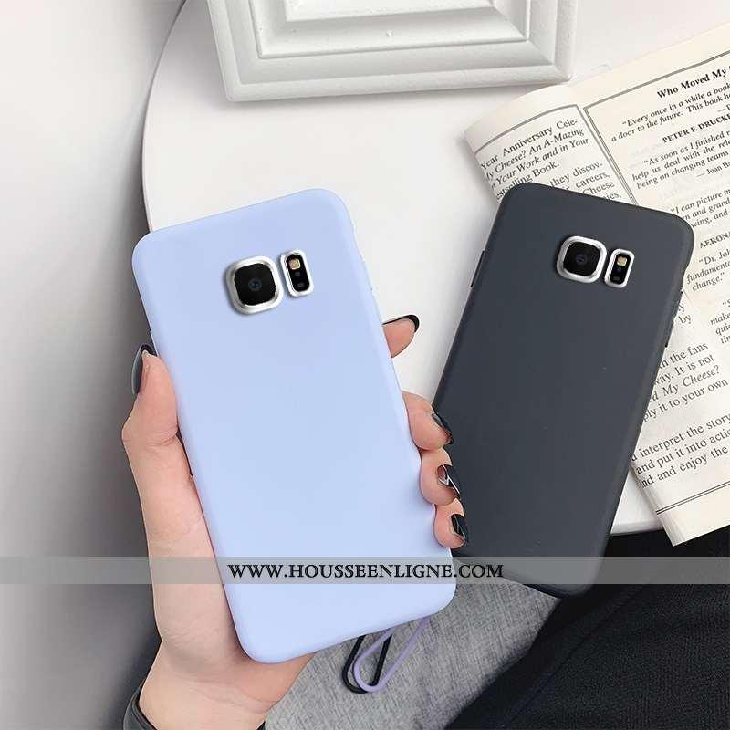 Étui Samsung Galaxy S7 Légère Fluide Doux Bleu Tout Compris Ultra Incassable