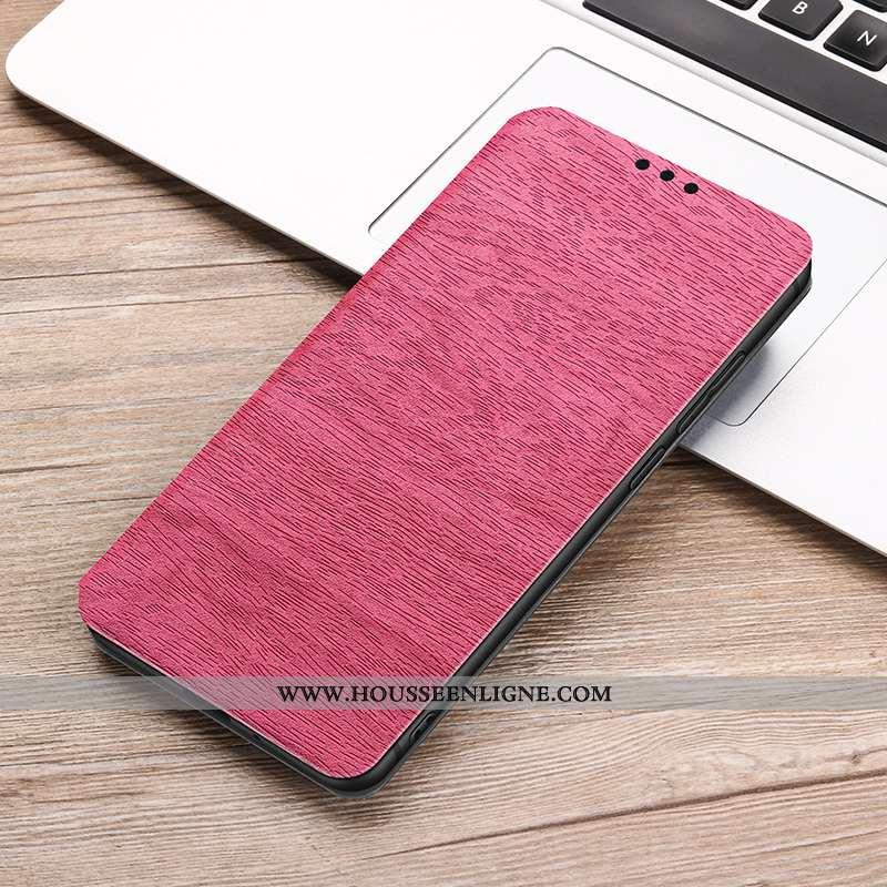 Étui Samsung Galaxy S9 Cuir Protection Incassable Tout Compris Clamshell Téléphone Portable Rose