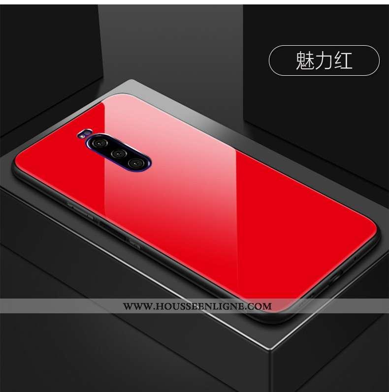 Étui Sony Xperia 1 Protection Verre Multicolore Ciel Étoilé Rouge Coque