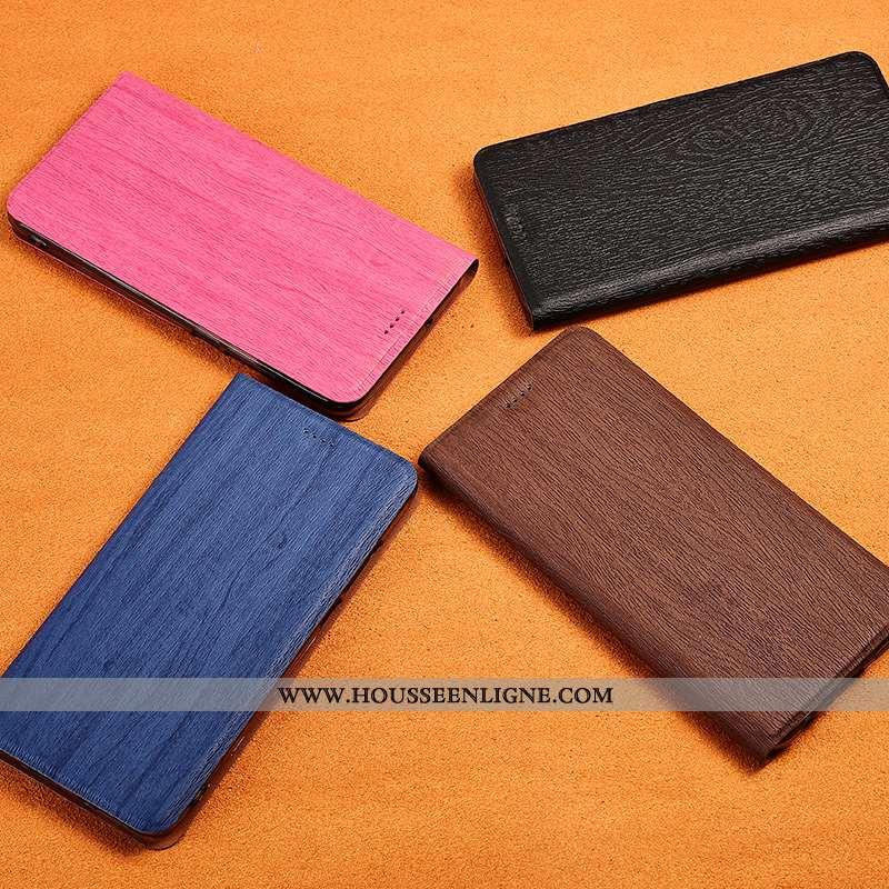 Étui Sony Xperia 10 Délavé En Daim Cuir Nouveau Téléphone Portable Silicone Tout Compris Arbres Rose