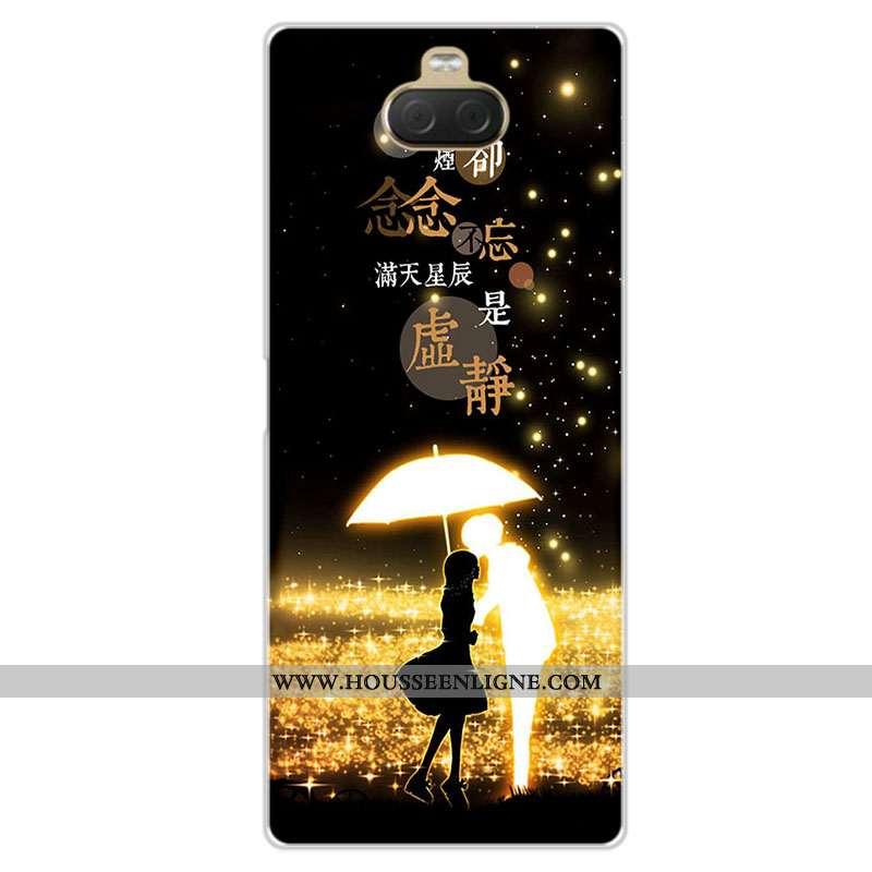 Étui Sony Xperia 10 Plus Personnalité Fluide Doux Incassable Personnalisé Silicone Téléphone Portabl