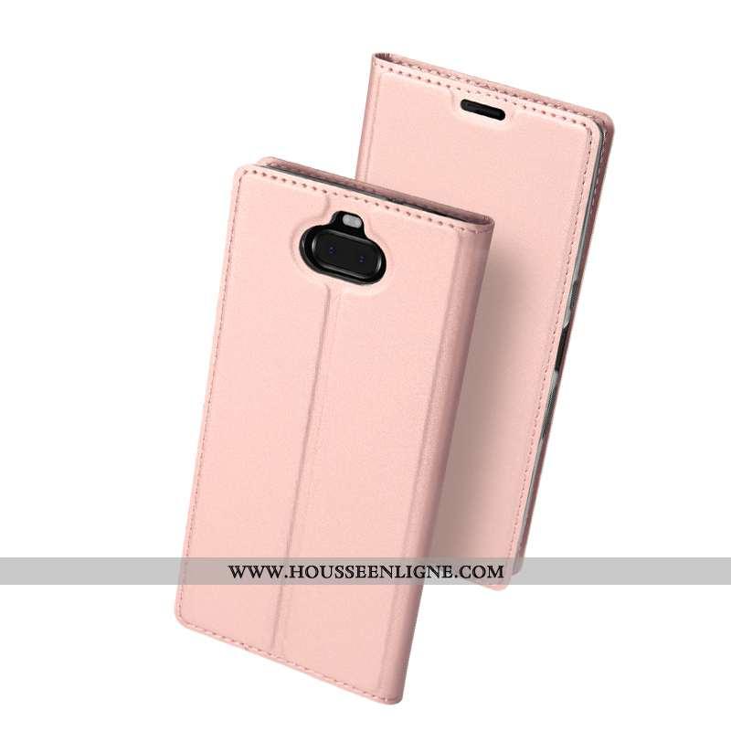 Étui Sony Xperia 10 Sac Protection Tendance Business Tout Compris Téléphone Portable Rose