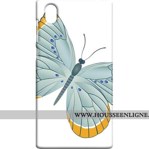 Étui Sony Xperia L1 Personnalité Protection Art Vent Téléphone Portable Blanc Blanche