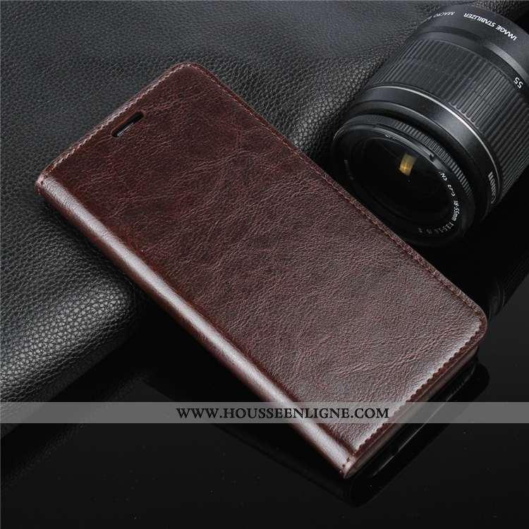 Étui Sony Xperia Xa Cuir Protection Téléphone Portable Véritable Housse Coque Marron