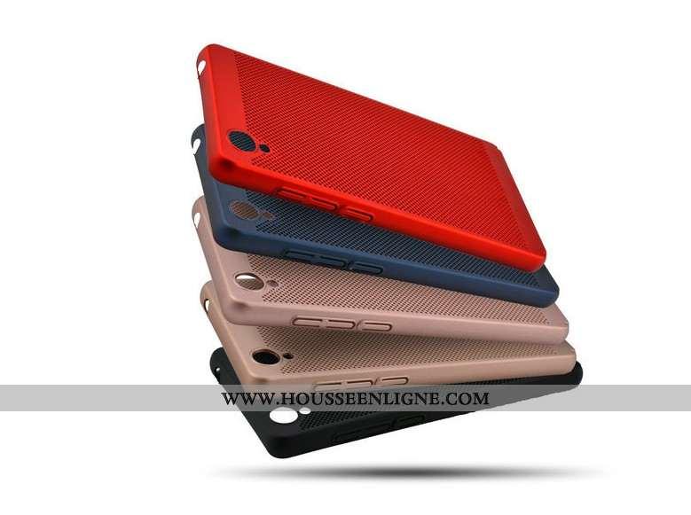Étui Sony Xperia Xa Ultra Protection Difficile Rouge Mesh Refroidissement Téléphone Portable Coque