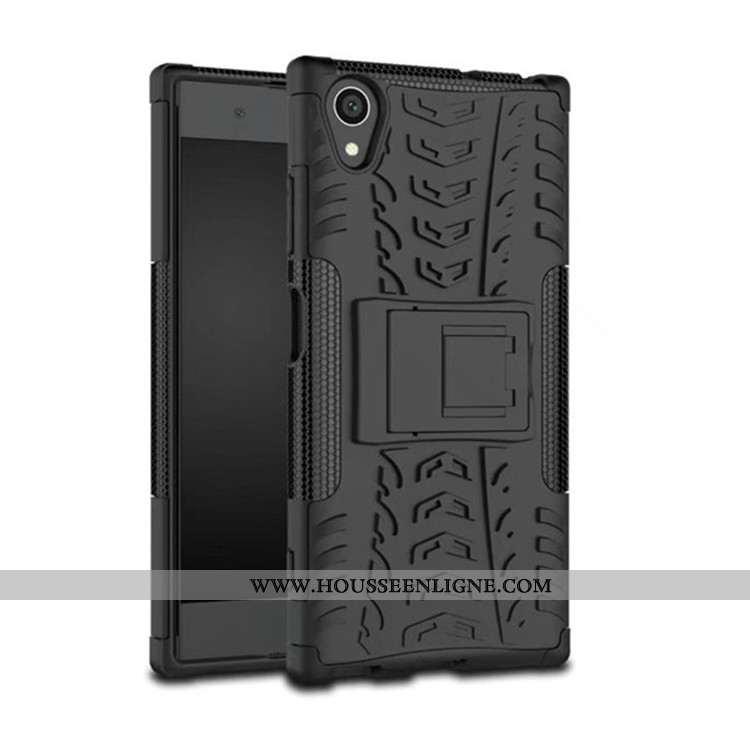 Étui Sony Xperia Xa1 Plus Protection Téléphone Portable Coque Support Noir Tout Compris Incassable
