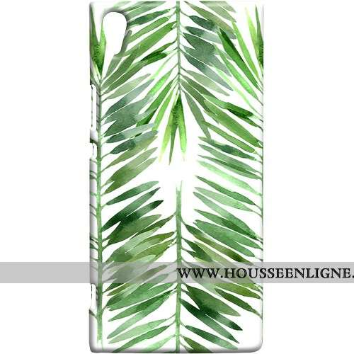 Étui Sony Xperia Xa1 Ultra Coque Petit Frais Vert Doux Téléphone Portable Verte