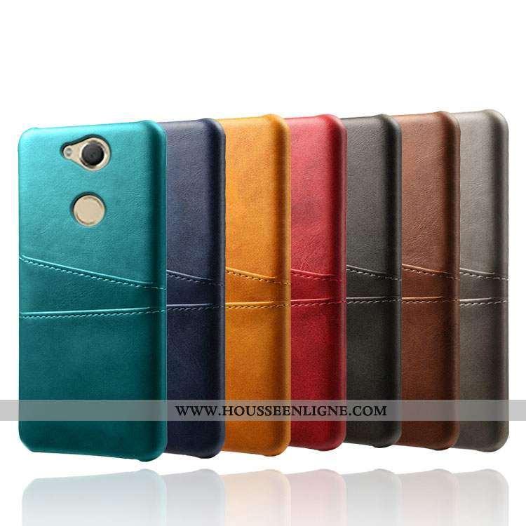 Étui Sony Xperia Xa2 Ultra Cuir Difficile Coque Carte Vert Téléphone Portable Qualité Verte