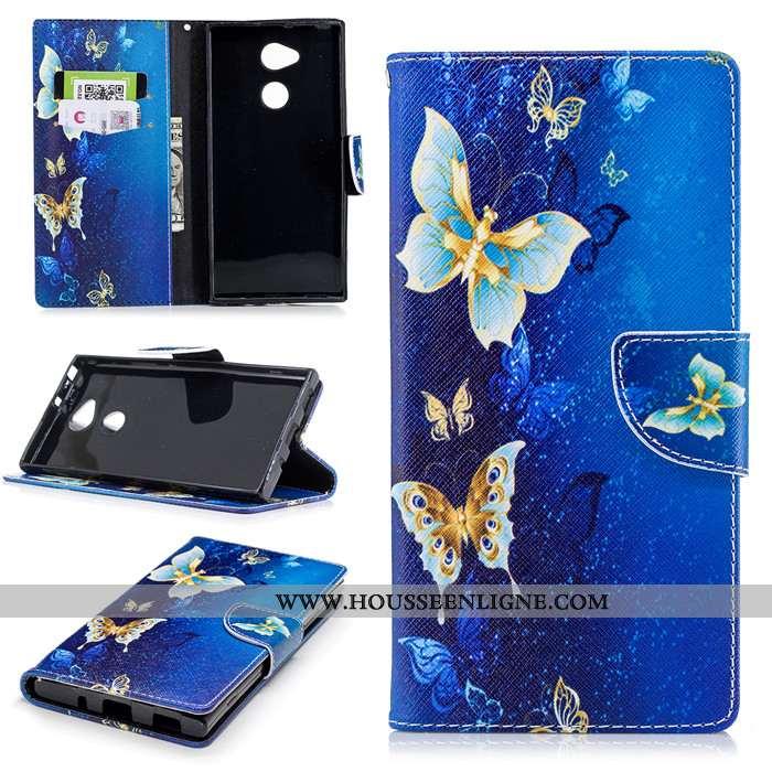 Étui Sony Xperia Xa2 Ultra Fluide Doux Silicone Incassable Bleu Coque Protection