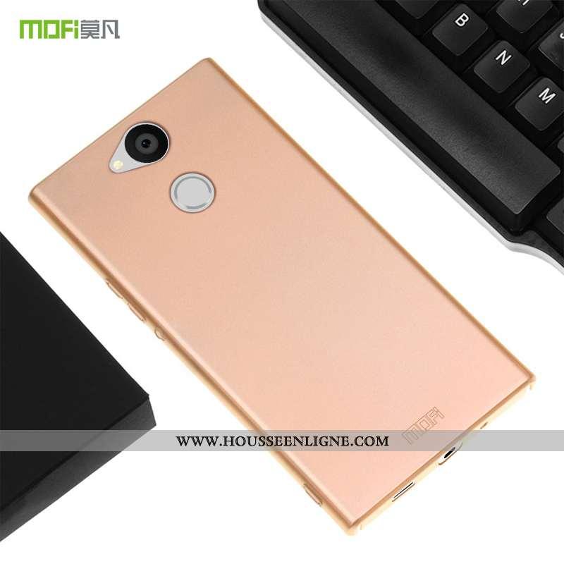 Étui Sony Xperia Xa2 Ultra Ultra Légère Téléphone Portable Tout Compris Rose Simple Délavé En Daim