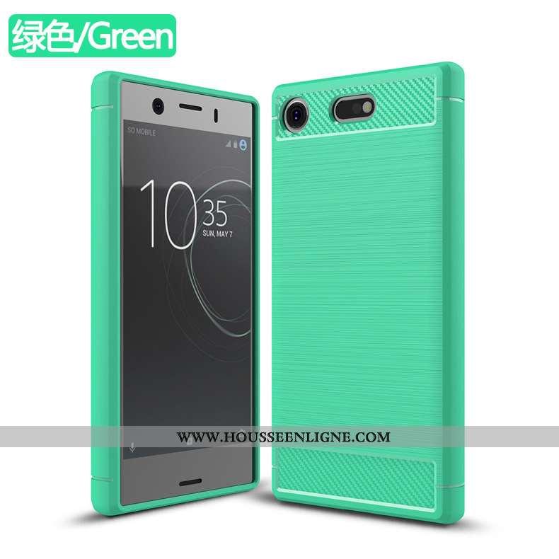 Étui Sony Xperia Xz1 Compact Téléphone Portable Vert Incassable Coque Verte