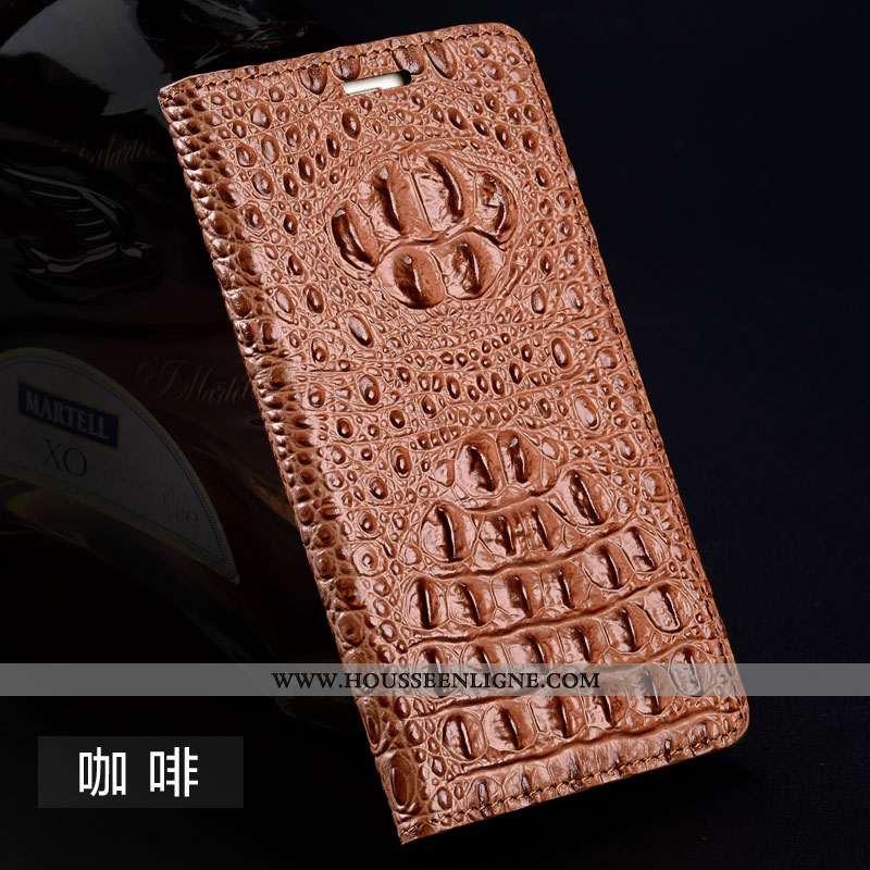 Étui Sony Xperia Xz2 Cuir Protection Housse Tout Compris Téléphone Portable Business Marron