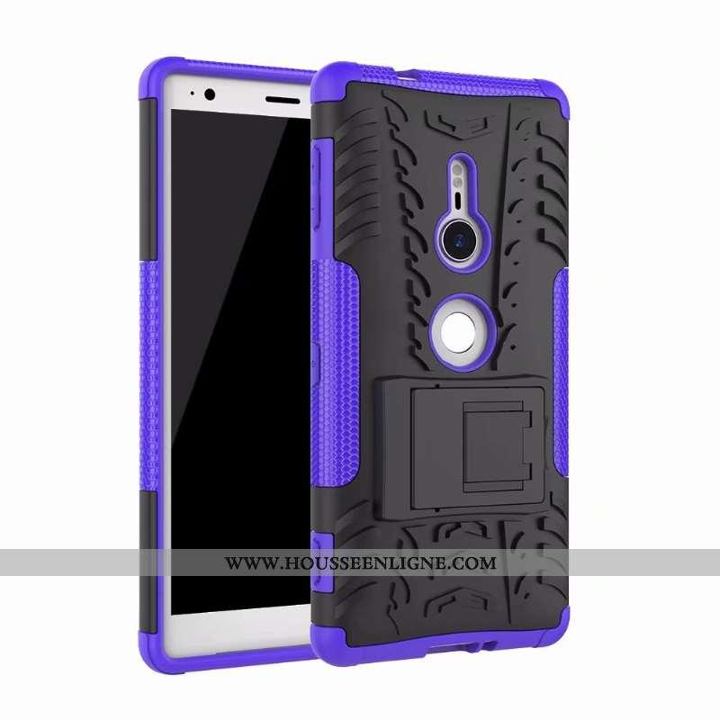 Étui Sony Xperia Xz2 Protection Personnalité Téléphone Portable Incassable Amoureux Support Légère V