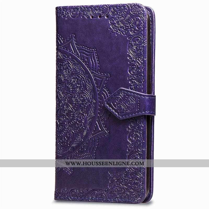Étui Sony Xperia Xz3 Créatif Fluide Doux Silicone Personnalité Violet Clamshell Incassable
