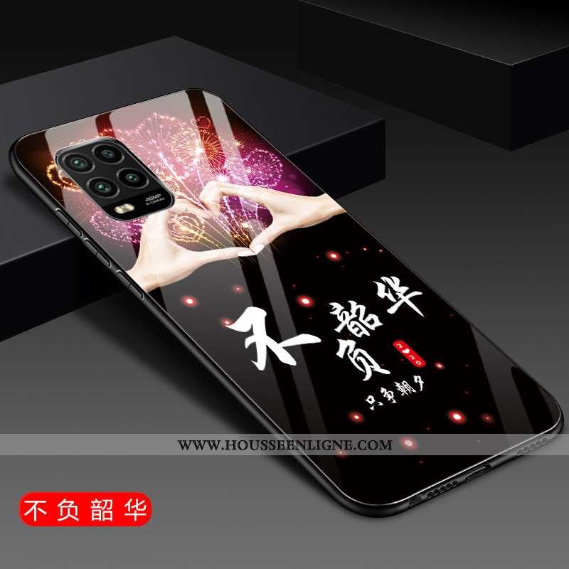 Étui Xiaomi Mi 10 Lite Silicone Protection Coque Incassable Ornements Suspendus Téléphone Portable N