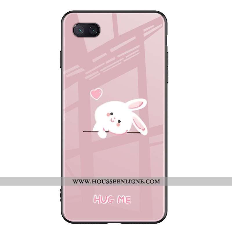 Étui Xiaomi Mi 8 Lite Dessin Animé Protection Jeunesse Lapin Coque Ours Petit Rose