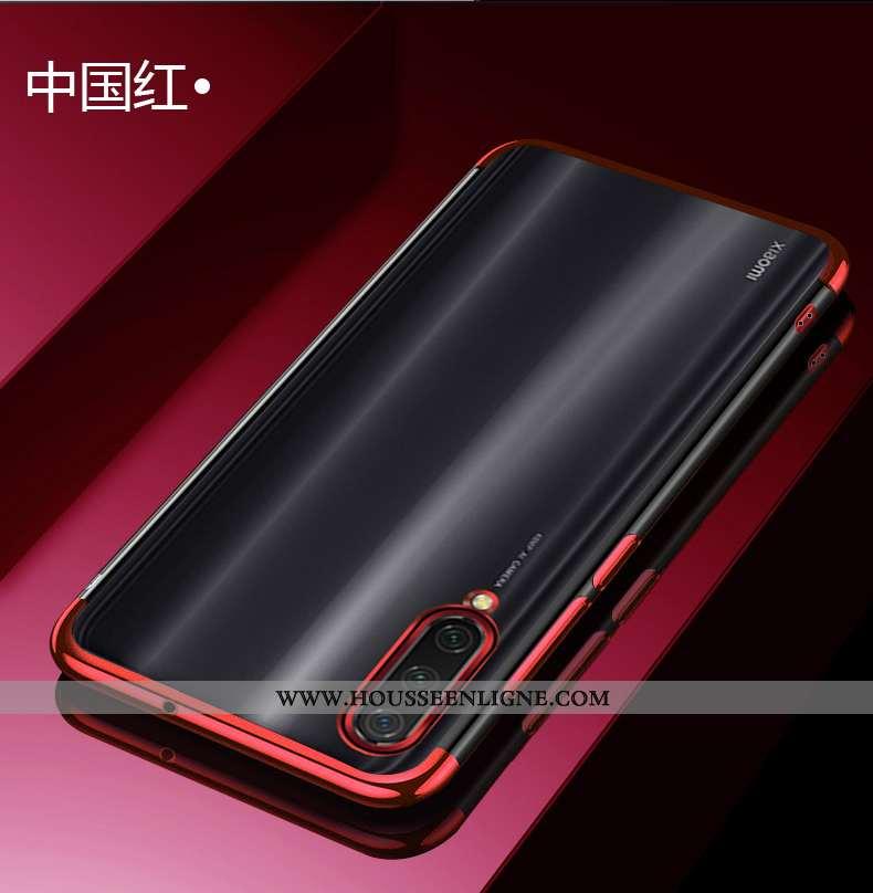 Étui Xiaomi Mi 8 Ultra Tendance Légère Jeunesse Rouge Incassable Transparent