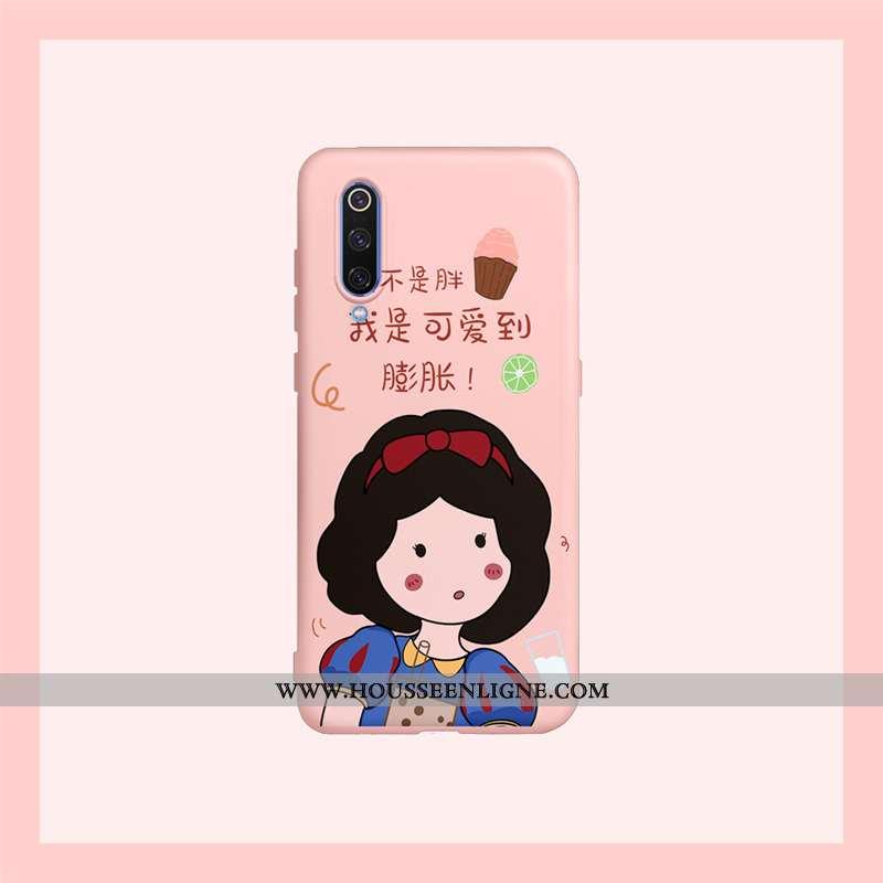 Étui Xiaomi Mi 9 Lite Charmant Fluide Doux Tout Compris Coque Téléphone Portable Petit Dessin Animé