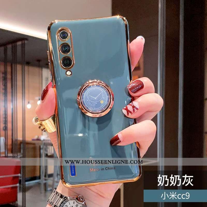 Étui Xiaomi Mi 9 Lite Créatif Tendance Fluide Doux Placage Petit Bleu