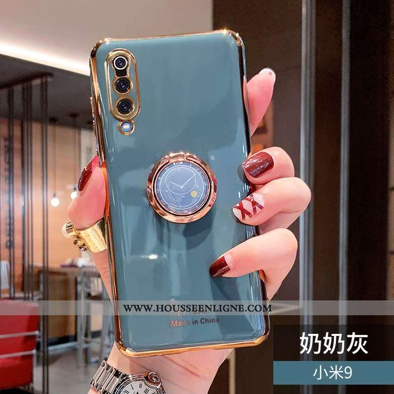 Étui Xiaomi Mi 9 Personnalité Créatif Gris Protection Luxe Téléphone Portable