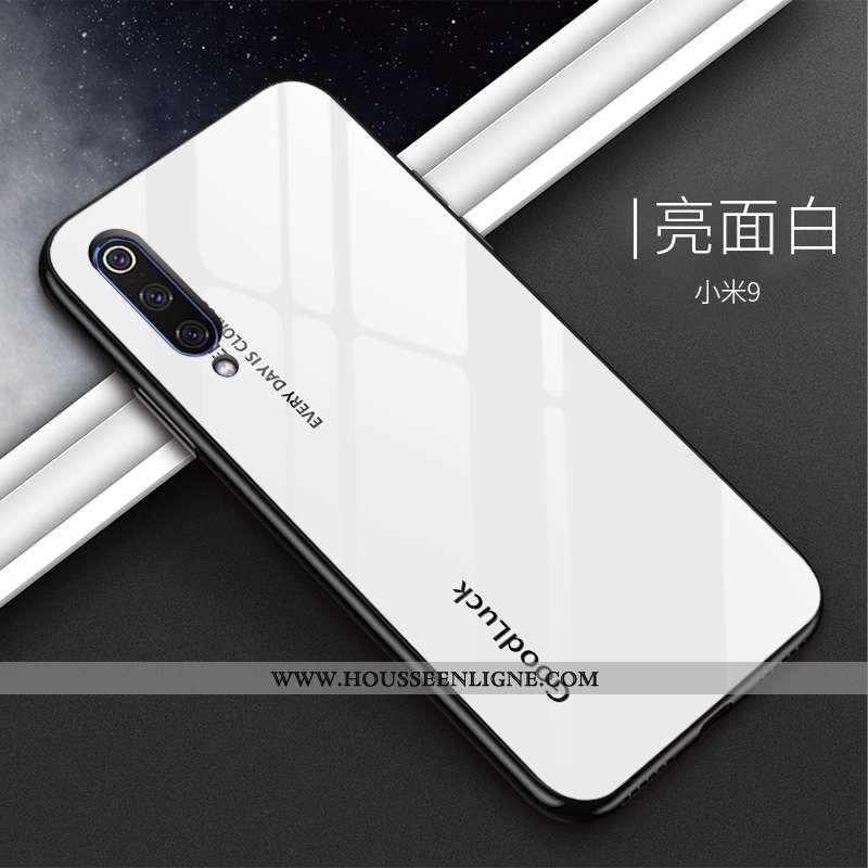 Étui Xiaomi Mi 9 Personnalité Tendance Tout Compris Téléphone Portable Tempérer Incassable Petit Bla