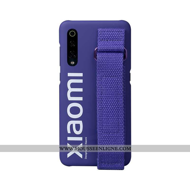Étui Xiaomi Mi 9 Protection Tendance Authentique Rose Mode De Rue Épissure Personnalisé Violet