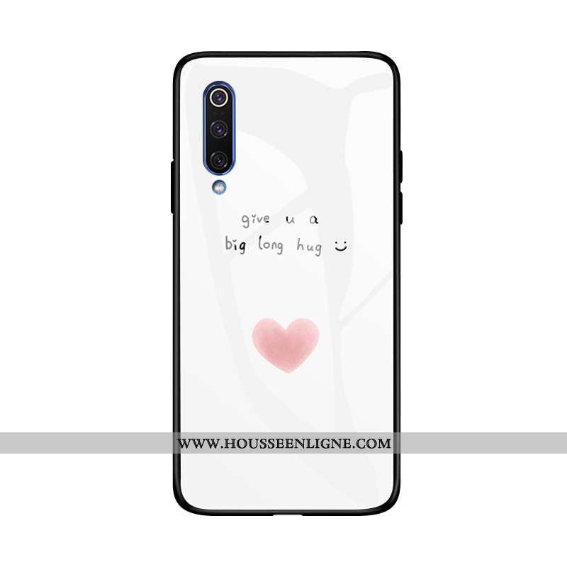Étui Xiaomi Mi 9 Se Personnalité Créatif Petit Tout Compris Blanc Coque Incassable Blanche