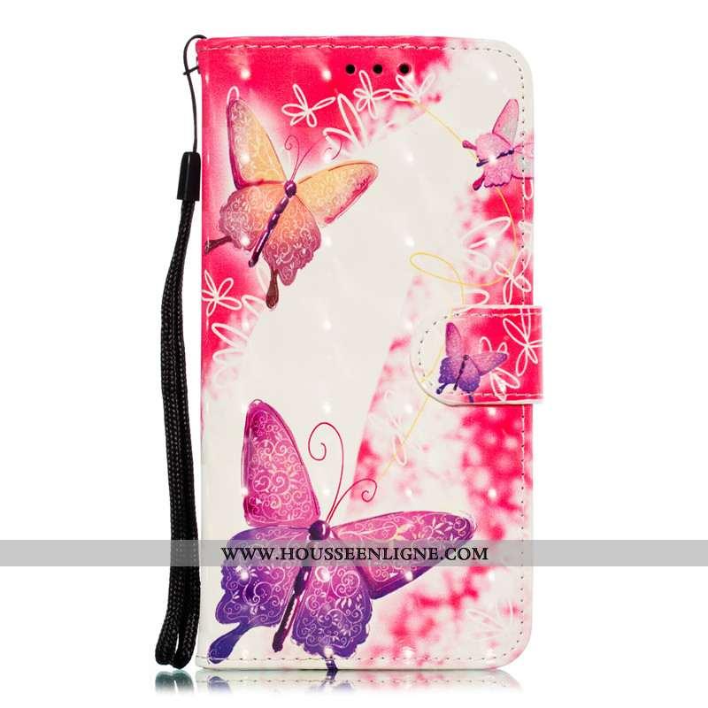 Étui Xiaomi Mi 9 Se Protection Cuir Coque Housse Incassable Téléphone Portable Rose