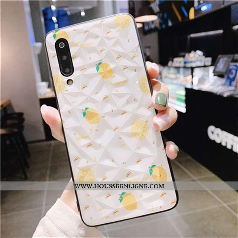 Étui Xiaomi Mi 9 Tendance Modèle Fleurie Petit Rouge Incassable Téléphone Portable Créatif Jaune