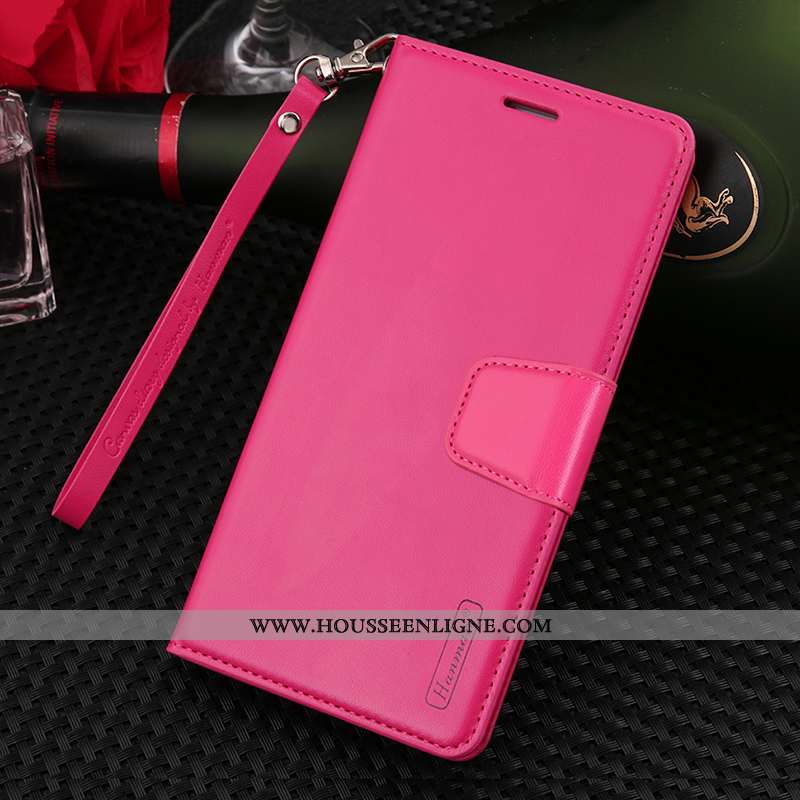 Étui Xiaomi Mi 9t Pro Cuir Véritable Cuir Protection Incassable Téléphone Portable Coque Rose
