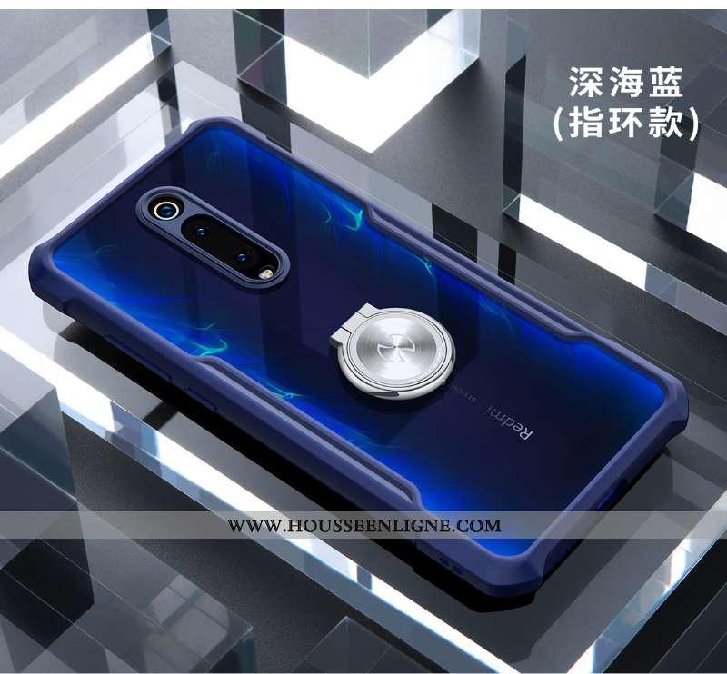 Étui Xiaomi Mi 9t Pro Délavé En Daim Personnalité Tout Compris Silicone Transparent Protection Incas